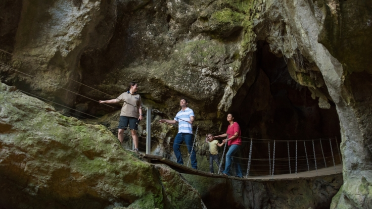 Fun for all the family at Capricorn Caves