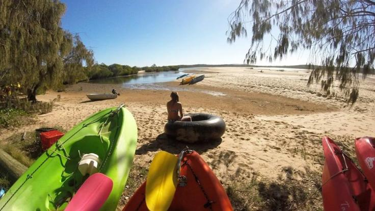 Castaway Camp with Kayaks, Water & Beach activities