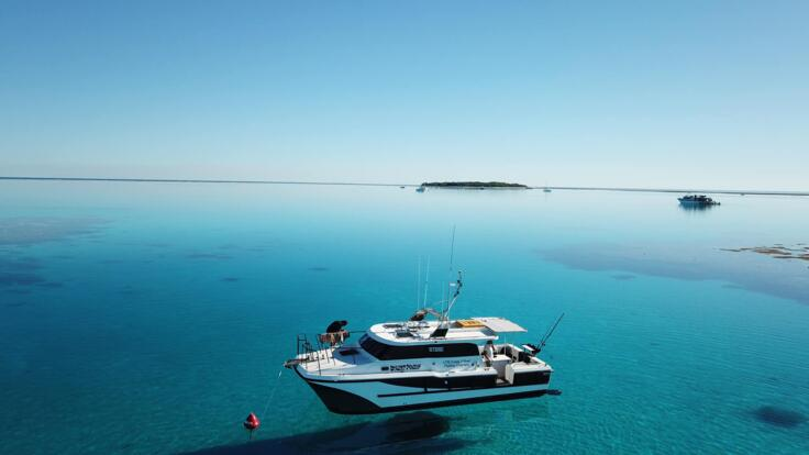Charter Boats Seventeen Seventy - Great Barrier Reef Fishing Tours