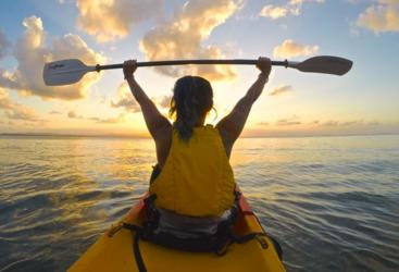 Experience an afternoon sunset kayak tour | 1770 & Agnes Water
