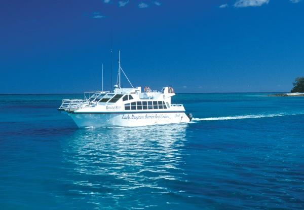 Our comfortable boat will get you to Lady Musgrave Island from Seventeen seventy