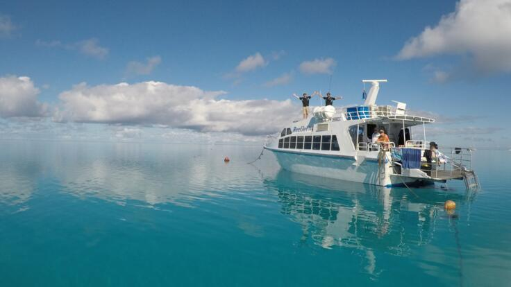 Lady Musgrave Island Tours - Great Barrier Reef Ferry Boat