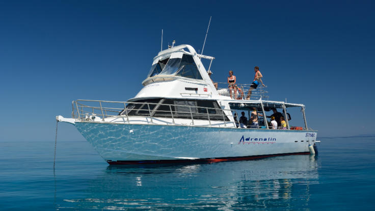 Private Charter Dive Boat Townsville