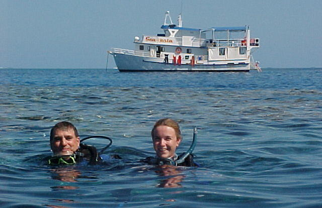 Scuba Dive Tours Townsville - Snorkel and Dive from Townsville liveaboard tour