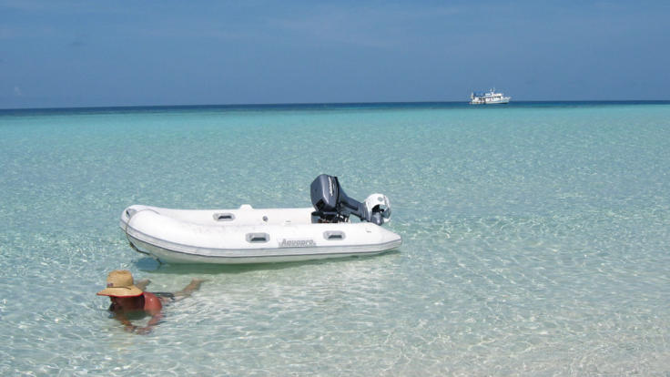 Relax on Wheeler Sand cay