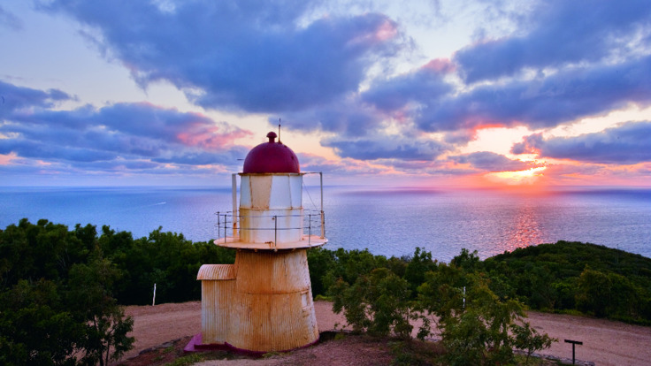 See historical sights like the Cooktown Lighthouse