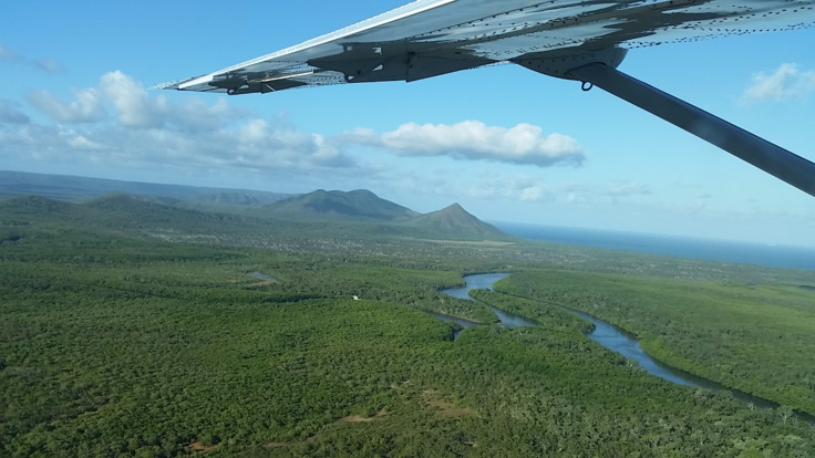 Scenic Flight from Cooktown