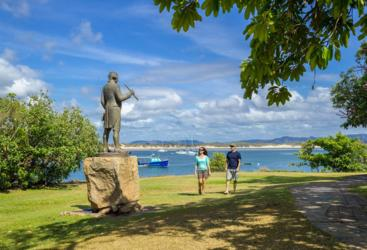 Cooktown 4WD Adventure | Cooktown Captain Cook Statue