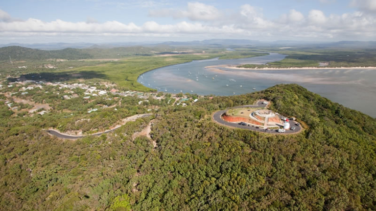 Scenic views of Cooktown
