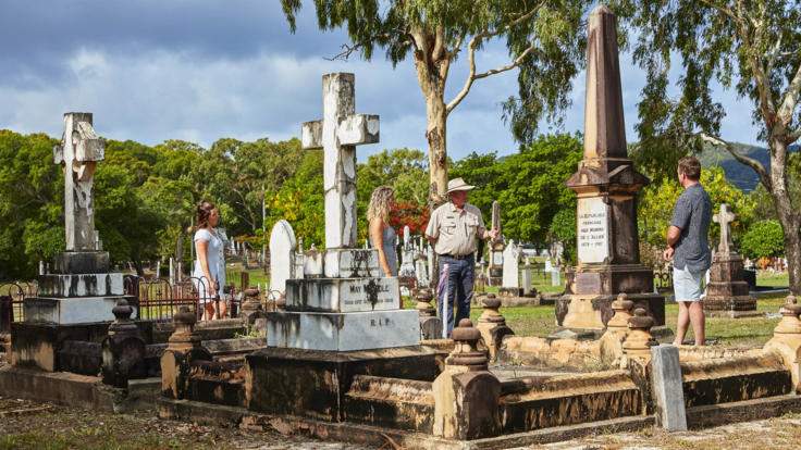 Guided Visit of Cooktown Includes Cooktown Historical Cemetery