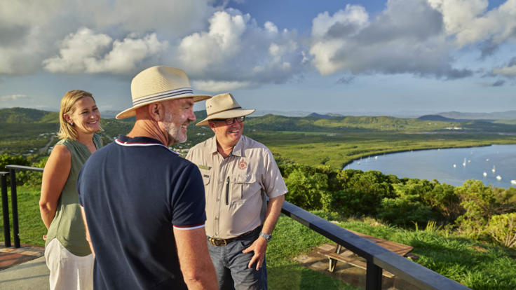 Guided Cooktown Tour | Grassy Hill Lookout