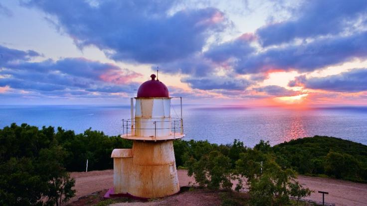 Cooktown lighthouse - see historic landmarks