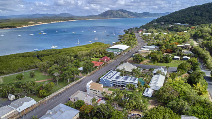 Explore Cooktown | Aerial View of the Town