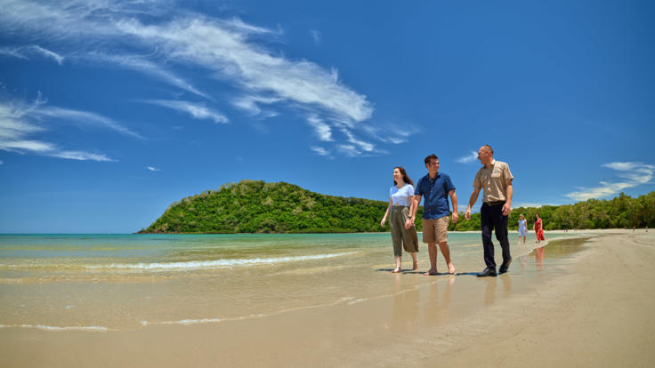 Explore Cape Tribulation Beach on your Way to Cooktown on Day 1