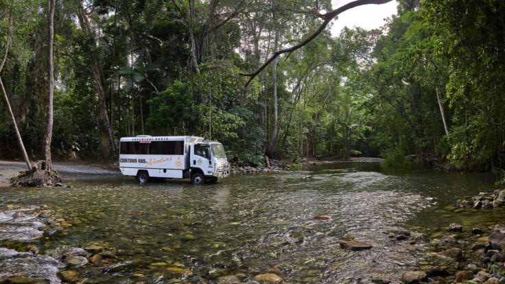 Travel on the 4WD only Bloomfield Track | Small Group Trip