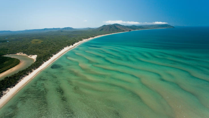 Coastline near Cooktown