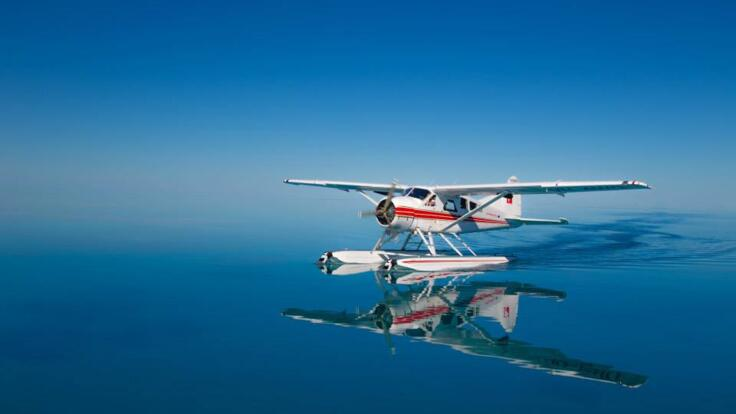 Seaplane Flight to Whitehaven Beach - Land on the Ocean - Swim the Ocean
