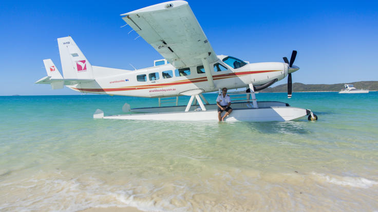 Great Barrier Reef Seaplane Flight