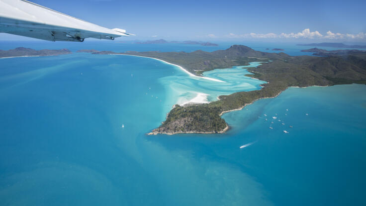 Whitehaven Beach Scenic Flights - Seaplane Flights Airlie Beach