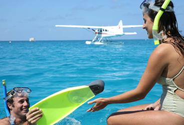 Snorkel the Great Barrier Reef | Whitsunday Seaplane Tour