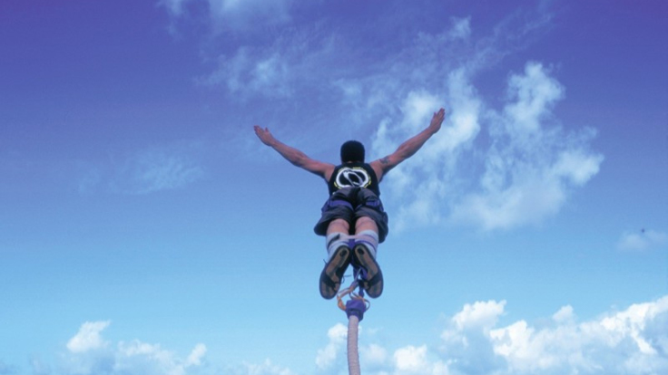Enjoy the Bungy freefall