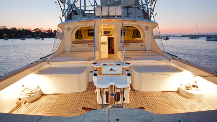 Private Charter Fishing Boat Port Douglas - Spacious deck area