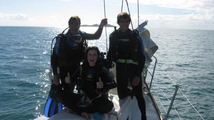Enjoy a FREE Scuba dive onboard 3 day 2 night sailing liveaboard from Airlie Beach