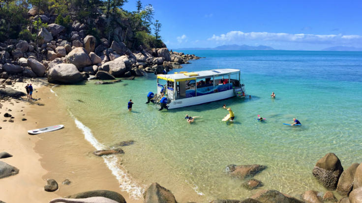 Eco friendly boat | Magnetic Island Snorkel Tour