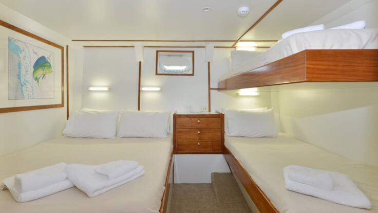 Yacht Charter Great Barrier Reef - Cabin Accommodation