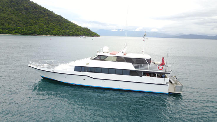 Private Charter Boat On the Great Barrier Reef