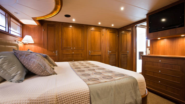 Double Cabin on Cairns luxury charter boat - Great Barrier Reef Australia