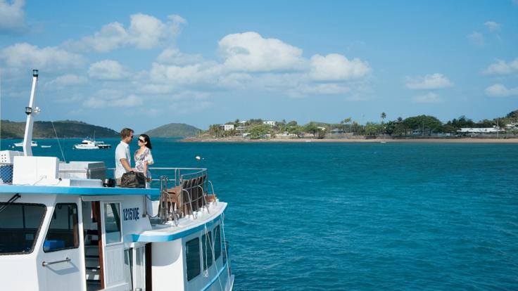 Ferry across to the majestic Thursday Island