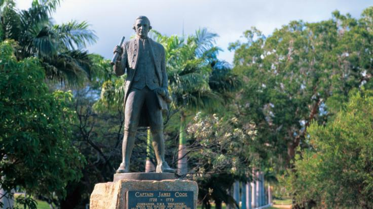 James Cook Statue Cooktown