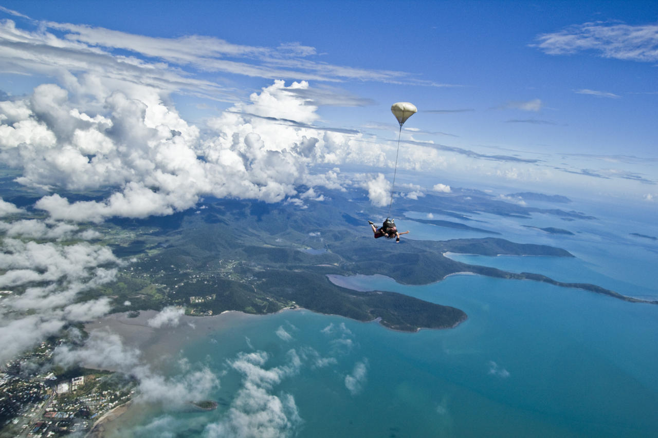 Skydiving Over Airlie Beach Whitsundays