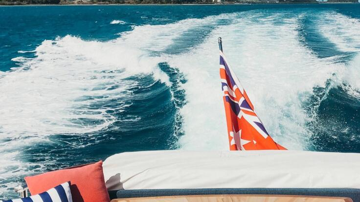 Hamilton Island Yacht Charters - Afternoon Tea on the AFT Deck