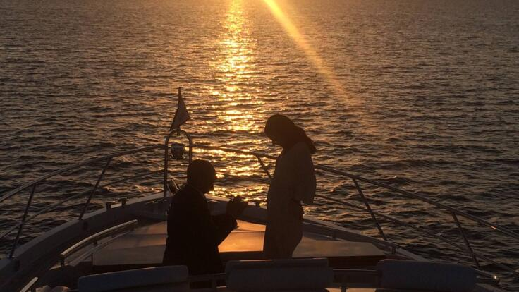 Sunset Cruises from Hamilton Island - Marriage Proposal
