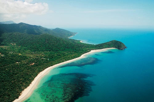 Aerial Shot of Cape Tribulation
