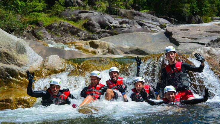 Share this action-packed canyoning adventure with friends