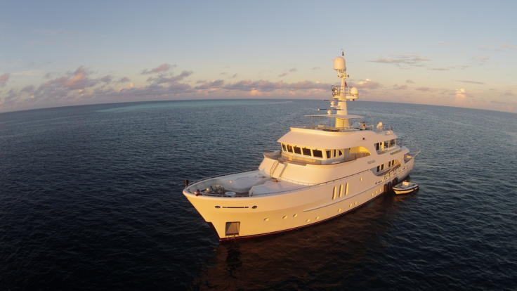 Superyacht Charter from Port Douglas - Cairns - Whitsundays