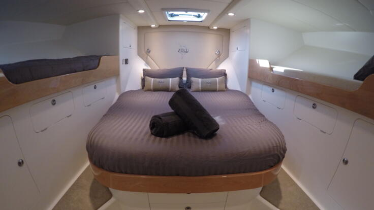Charter Boat Port Douglas - Master cabin, double and two bunks