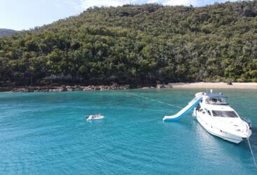 Whitsunday Luxury Yacht Charters - Waterslide