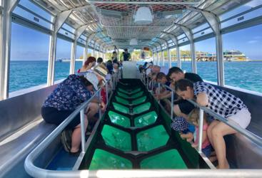 Green Island Tour - Glass bottom boat tour on the Great Barrier Reef