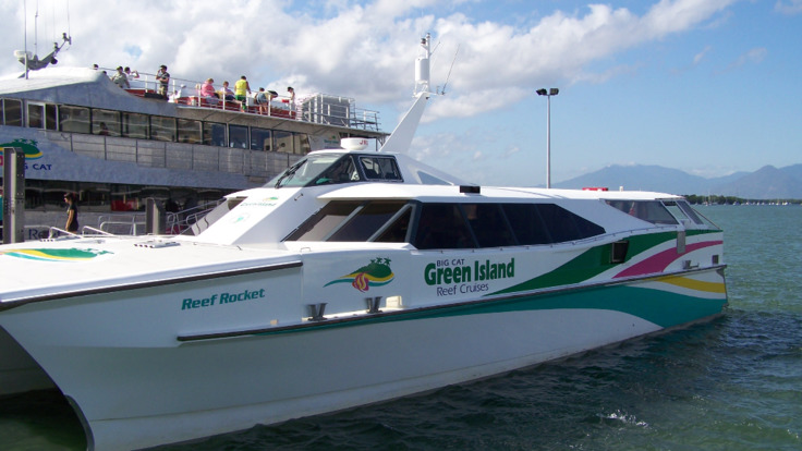 Reef Rocket Charter to Green Island