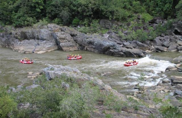Cairns Barron River white water rafting