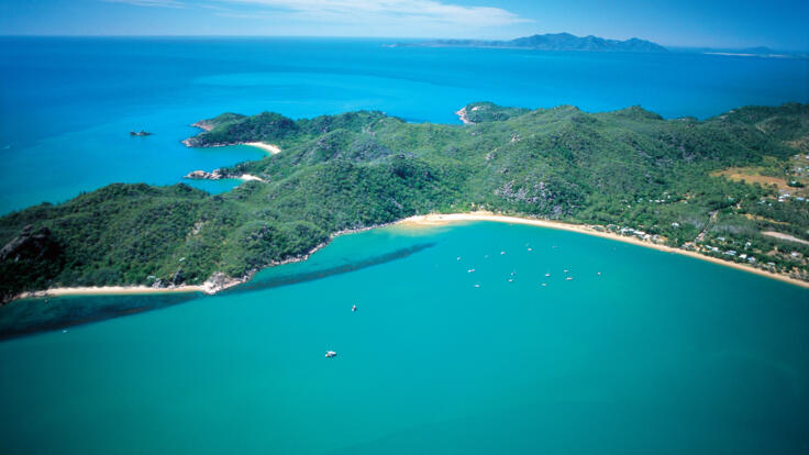 Magnetic Island Yacht Charter - Aerial View Magnetic Island