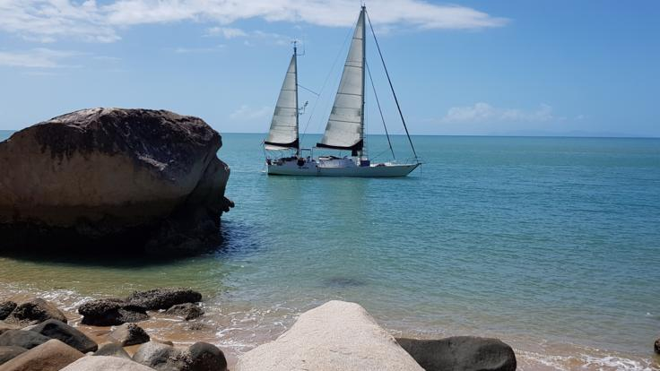 Great Barrier Reef Private Charter Boat - Full Sail Around Magnetic Island