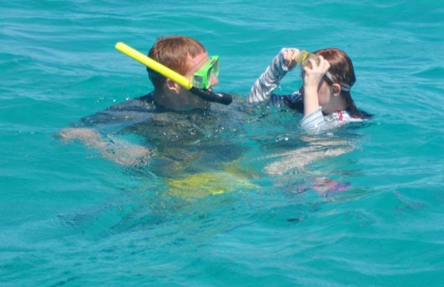 Private Charter snorkelling and fishing on the Great Barrier Reef