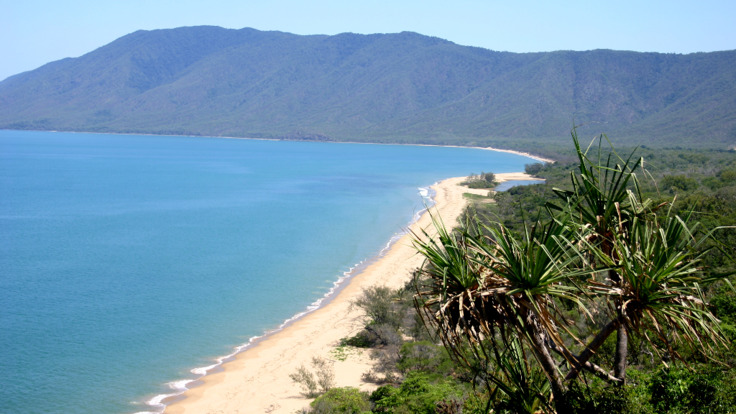 Stunning view from the lookout over Cape Tribulation