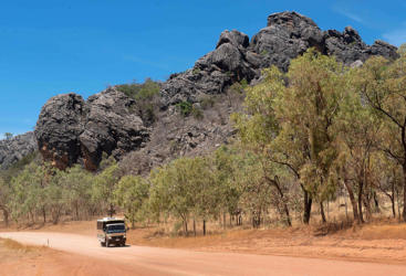 Cairns to Chillagoe Caves 4 wheel drive day tour