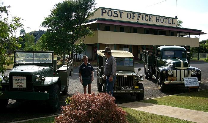 Old Post Office in Chillagoe Outback QLD